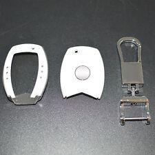 Mercedes Benz Remote Smart Key FOB White key Case Cover Case Skin Shell Cap Fob