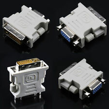 15 Pin 24+1 pin DVI-D Adapter PC Laptop Video Converter for Female Male to VGA