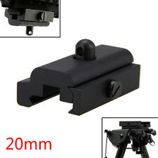 Bipod Sling Swivel Adapter Weber Picatinny 20mm Rail Mount für Rifle Gun