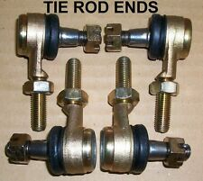 FULLFLIGHT RACING  RAPTOR 660 TIE ROD ENDS 2-LEFT 2-RIGHT HAND THREAD-2 SIDES