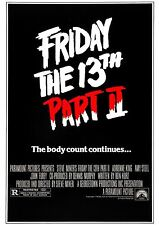 Friday the 13th Part 2 - A4 Laminated Mini Poster