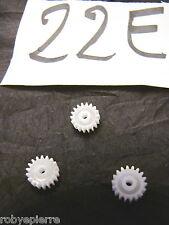 Ingranaggi ingranaggio pezzi di ricambio modellismo meccanismi in plastica 22E
