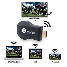 WiFi Full-HD HDMI TV Stick AnyCast DLNA Wireless Chromecast Airplay Dongle 1080P
