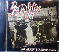 BALDIN BADA - LUR AZPIAN BUKATUKO DUZUE Cd Nuevo Precintado 5