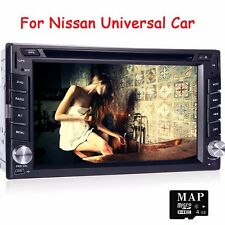 2Din Car GPS DVD Player Radio 1080P for Nissan Sentra Paladin Patrol Versa 350z