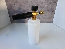 New Heavy Duty M22 Male Pressure Washer Snow Foam Lance With 1L Bottle