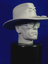 1:6 CUSTOM RESIN HEAD & STETSON ROBERT DUVALL (LTC. BILL KILGORE) APOCALYPSE NOW