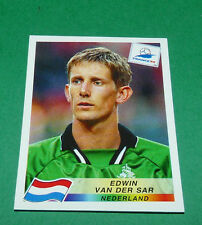 N°301 EDWIN VAN DER SAR NEDERLAND PANINI FOOTBALL FRANCE 98 1998 COUPE MONDE WM