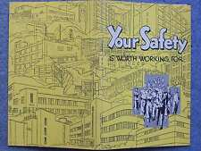 1941 circa KODAK YOUR SAFETY IS WORTH WORKING FOR BOOKLET BROCHURE