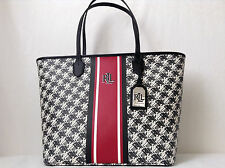 LAUREN RALPH LAUREN DOBSON ASHLEY MEDIUM TOTE BAG