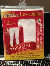 Thermal Long Johns L Brushed Inside For Xtra Warmth