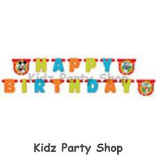 Mickey Mouse Clubhouse Party - 1.95m Card Letter Banner - Free Postage in UK