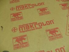 "MAKROLON Polycarbonate sheet 3/8"" x 28"" x 21"" Clear"