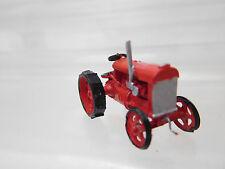 eso-361:87 Traktor rot Räder durchbrochen Metallguß sehr guter Zustand
