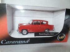 Cararama CR040 1/43 o escala Ford Anglia 105E Monaco Rojo
