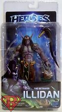 """THE BETRAYER ILLIDAN Heroes of the Storm 7"""" Video Game Figure Series 1 Neca 2015"""