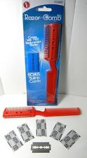 2PC Razor Cutter Styling Comb Hair Shaper Trim Works on Cat and Dog