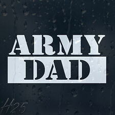 Army Dad Military Car Decal Vinyl Sticker For Panel Bumper Window