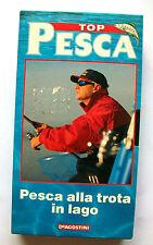 PESCA ALLA TROTA IN LAGO [vhs, DeAgostini, Top Pesca, 1999, 30']