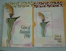 1990 Coins of Malaysia English version  Second series coin card