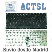 """""""TECLADO ESPAÑOL APPLE MACBOOK AIR A1369 A1466 13"""""" KEYBOARD SIN LUZ DE FONDO"