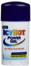 2 Pack - ICY HOT Power Gel Pain Reliever Gel Maximum Strength 1.75 oz Each