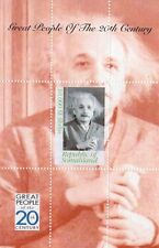 GREAT PEOPLE OF THE 20th CENTURY ALBERT EINSTEIN SOMALILAND STAMP SHEETLET