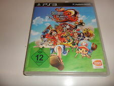 PlayStation 3 PS 3  One Piece Unlimited Word Red