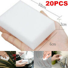 20pcs Magic Sponge Eraser Multi-functional Cleaning Melamine Cleaner Pad Foam