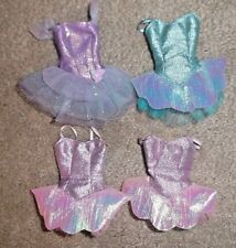BALLERINA BARBIE DOLL CLOTHES - 4 SMALLER BALLET COSTUMES