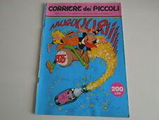 IL CORRIERE DEI PICCOLI DEL 29 DICEMBRE 1974, N'52- FUMETTI VARI E RUBRICHE.