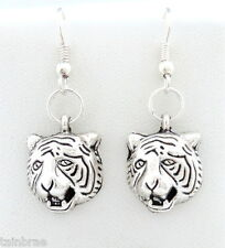 Tiger Head I Tiger Earrings
