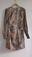 H&M Conscious Exclusive 2016 Lyocell and Silk Dress UK12 EU38 US8 ONLY ONE!