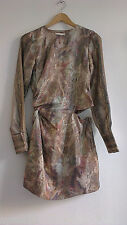 H&M Conscious Exclusive 2016 Lyocell and Silk Dress UK8 EU34 US4 ONLY ONE!