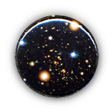 Badge GALAXIE Galaxy Univers Space funny geek pop rock culte pins Button Ø25mm
