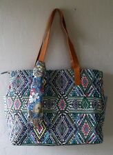 Ex-Large Canvas Tote Bag Shopper The Perfumed River; Best, Fully Lined, Travel