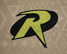 ROBIN R Uniform Logo- BATMAN Animated Series Iron-on Embroidered Patch / Badge