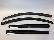 3D Smoke Tint Shade Rain Deflectors Door Window Visors For Kia Sorento 2011-2015