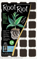 Root Riot Plant Starter Cubes 24 Tray - Cuttings and Seedlings