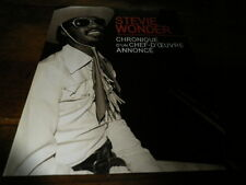 STEVIE WONDER - Mini poster Noir & blanc 2 !!!!!!!!!!!!!!!