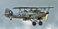 Hawker Hind Inter-War RAF Light Bomber Aircraft Mahogany Wood Model Large New
