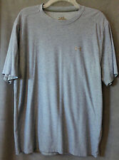 Mens UNDER ARMOUR Marled Blue Loose Fit Short Sleeve Shirt Large