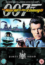 The World Is Not Enough   DVD  BRAND NEW & SEALED FREE POSTAGE