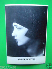 figurines actors cromos akteurs figurine i miti di hollywood # 47 kay francis gq