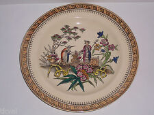 Edge Malkin & Co. ANTIQUE ORIENTAL DINNER PLATE CHANG Staffordshire  England