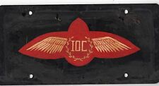 International Order Of Characters Prototype Car License Plate Aviation