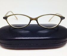 Ralph Lauren 1399 Women's Rx Eyeglasses Frames Light Brown Retro Inspired Italy