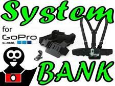Chest Mount Harness Harnais de fixation de caméra sport pour GoPro HERO 3 2 1