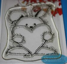 NEW Stampavie Penny Johnson 'Cuddles' Clear Stamp PEN12 -Valentines !