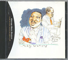 CHICAGO BLUES MASTERS - VOLUME ONE - MUDDY WATERS & MEMPHIS SLIM - RARE MINT CD